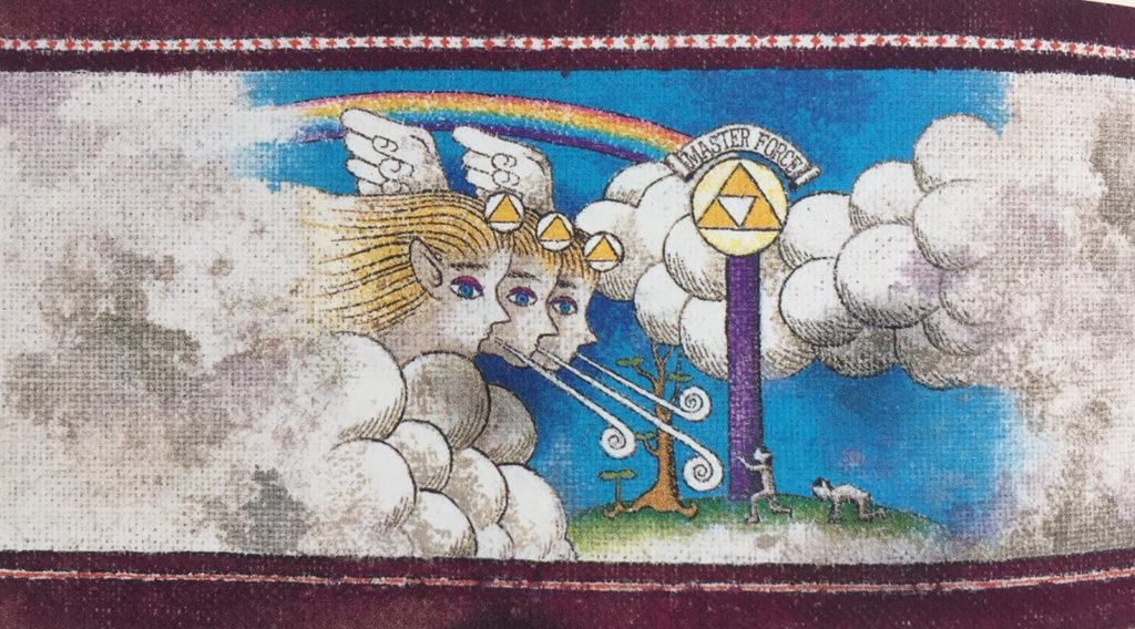 Le tre dee danno vita alla cronologia di The Legend of Zelda
