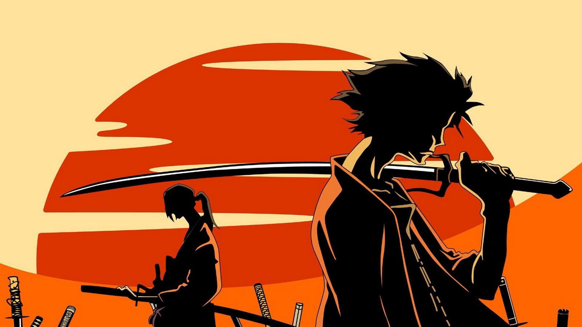 Mugen e Jin al tramonto