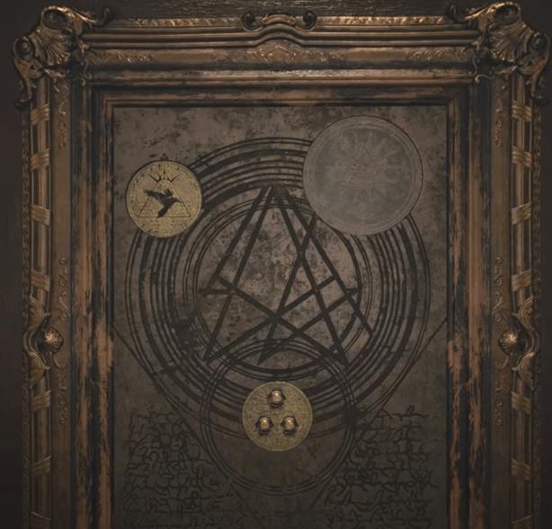Il giusto posizionamento dei tre simboli.