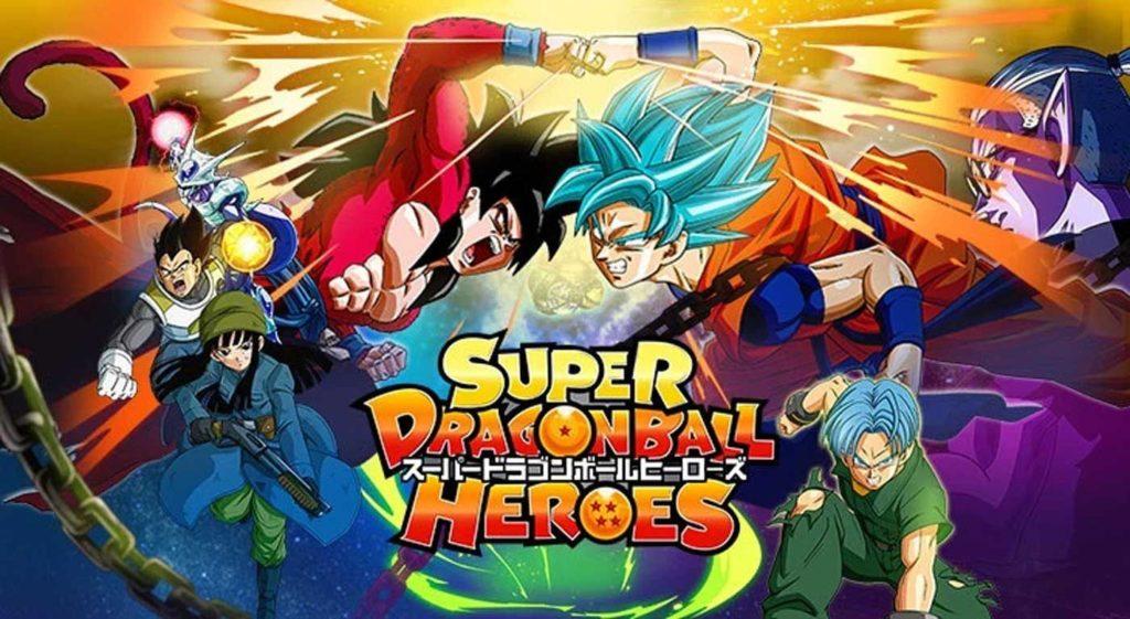 alcuni personaggi di dragon ball heroes