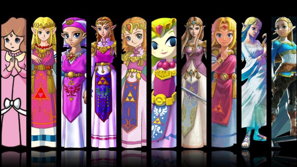 La principessa Zelda attraverso le varie storie della leggenda