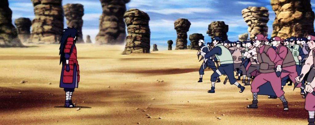 madara vs alleanza ninja
