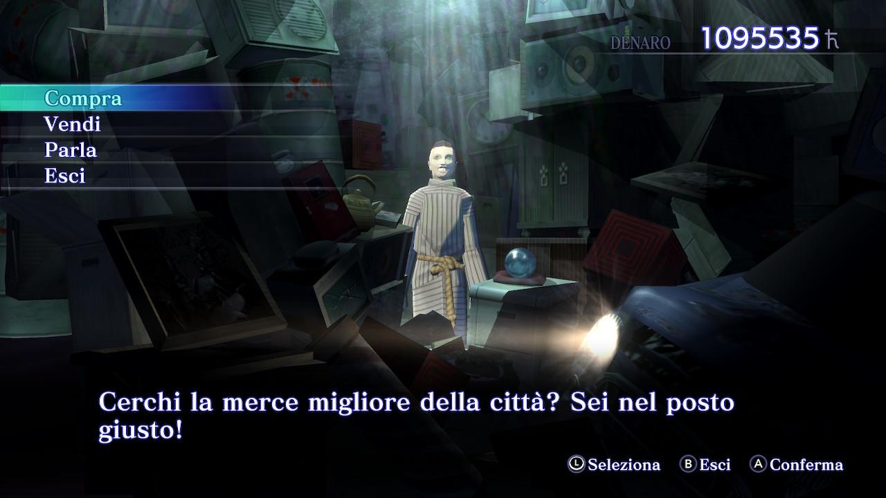 Un normale emporio su Shin Megami Tensei III: Nocturne HD Remaster