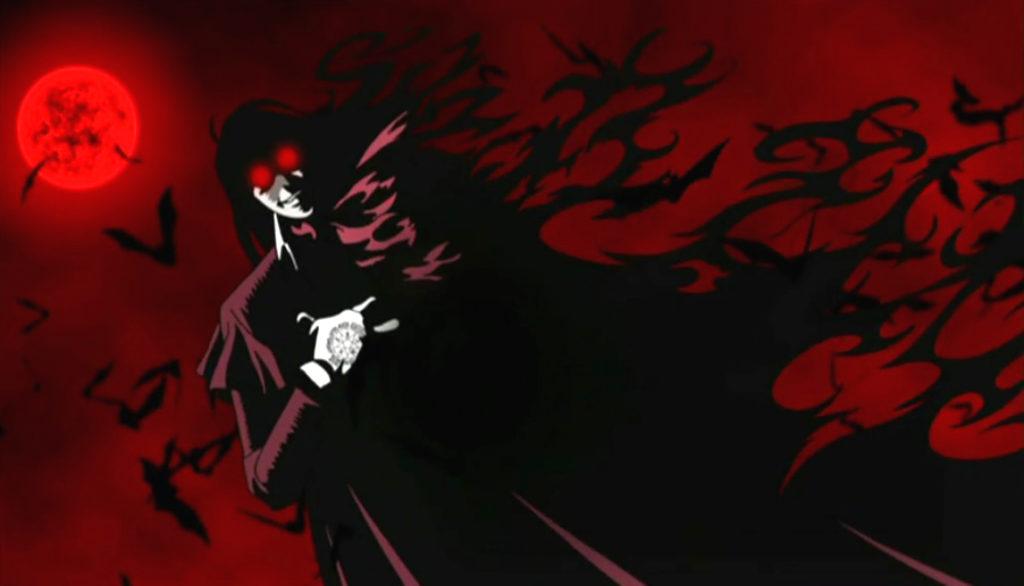 Alucard, protagonsita di Hellsing ultimate