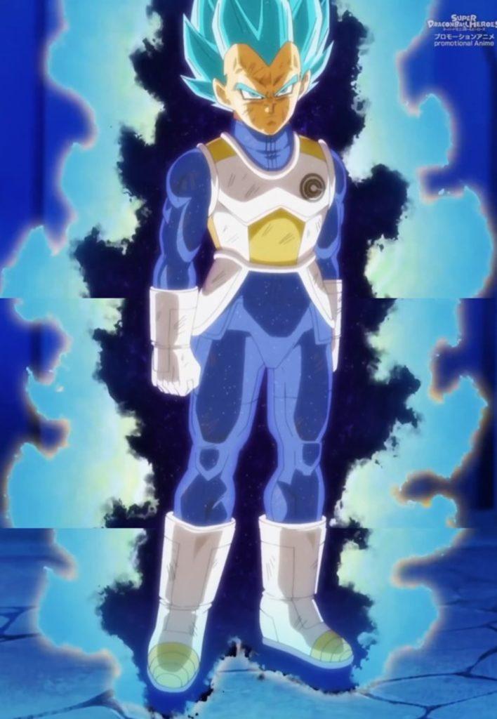 Vegeta super saiyan blue controlled berserk