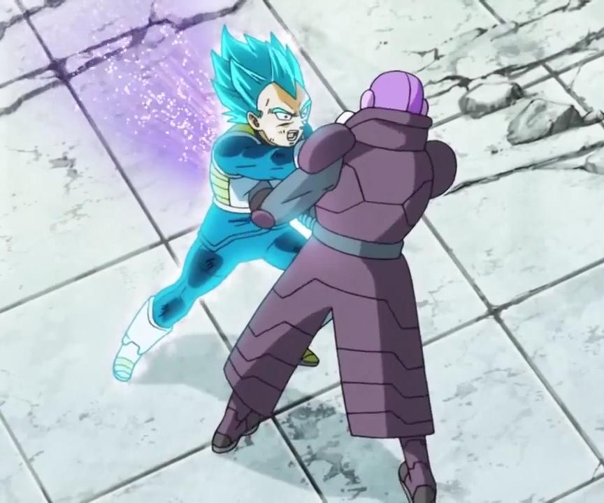 Hit sconfigge Vegeta