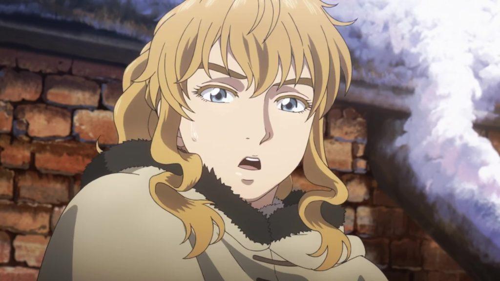 Un personaggio femminile da Vinland Saga