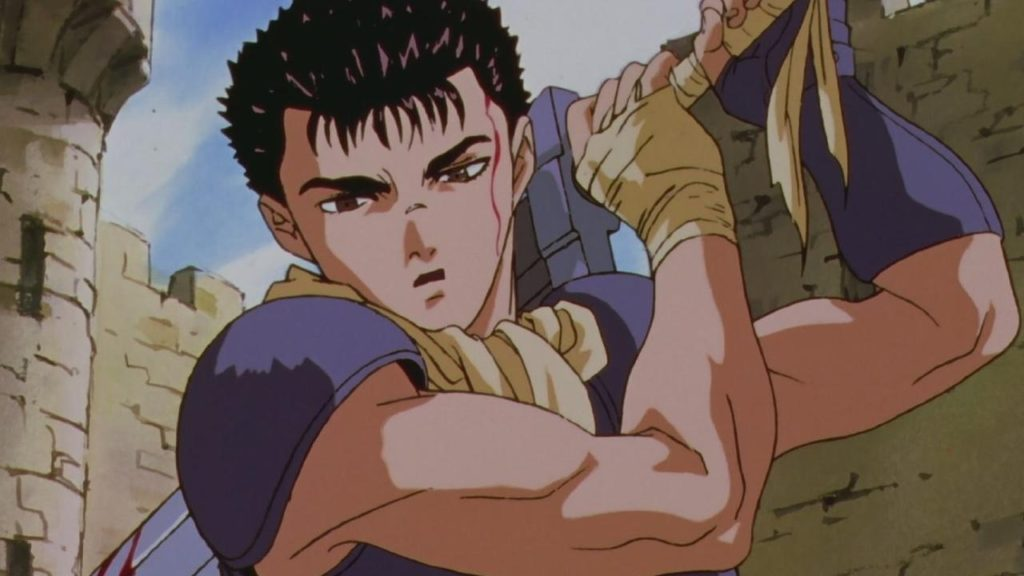 Gatsu, il protagonista di Berserk