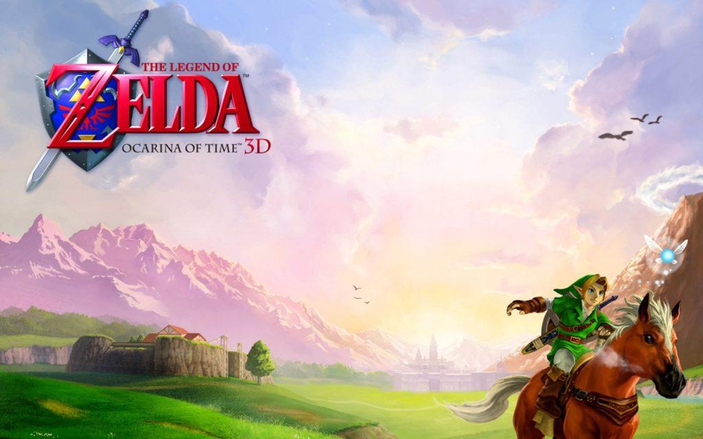 Link a Cavallo di Epona con la fatina Navi