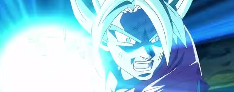 Goku carica la sua Kamehameha e uccide Freezer.