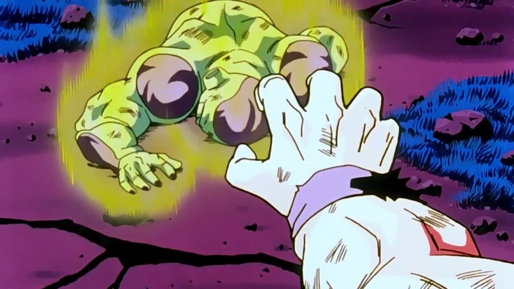 Goku risparmia Freezer