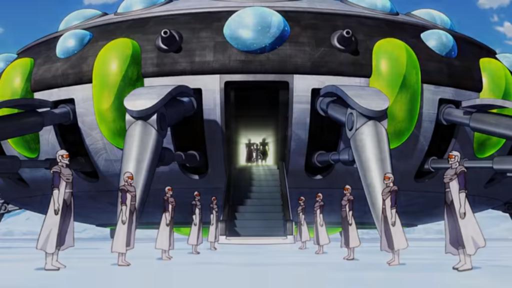 Freezer arriva sulla Terra insieme al suo esercito.