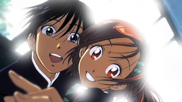 Yukini e Souchiro, i due protagonisti di Le situazioni di lui e di lei