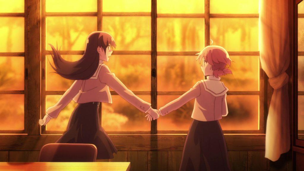 Yuu e Touko, le due protagoniste di Bloom into you