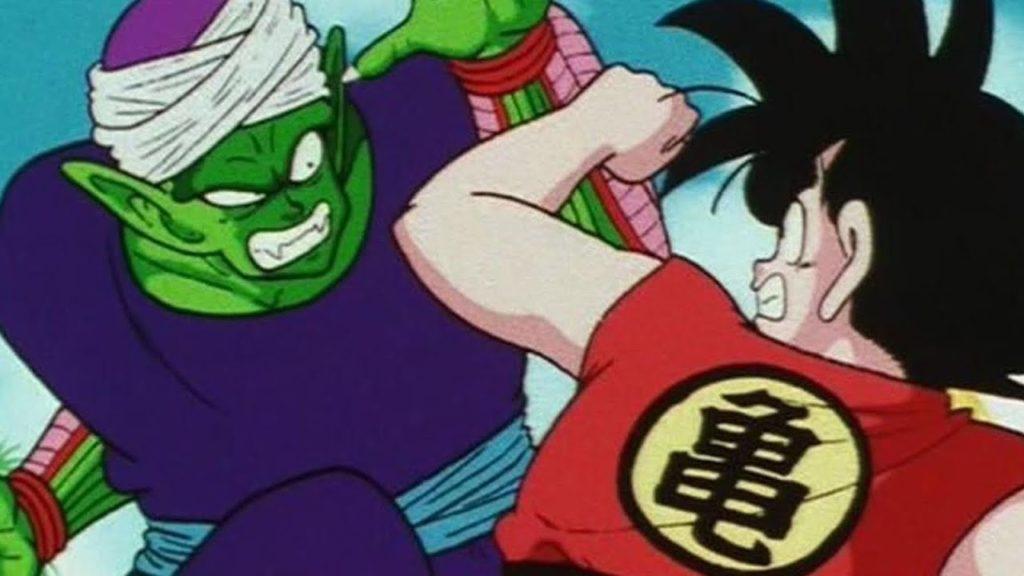 Goku e Piccolo si scontrano quasi alla pari durante il ventitreesimo torneo Tenkaichi