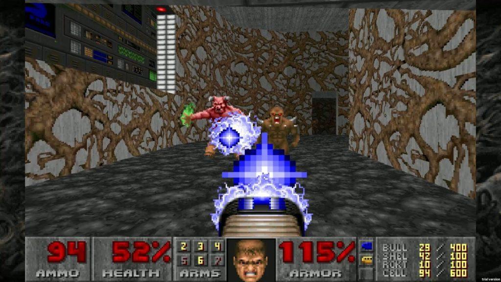 Una scherma di Doom