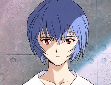 Il tipico aspetto assente di Rei