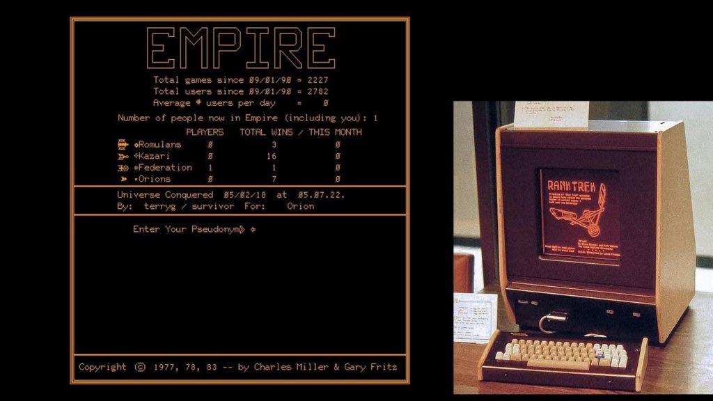 Sistema Plato computer degli anni 70