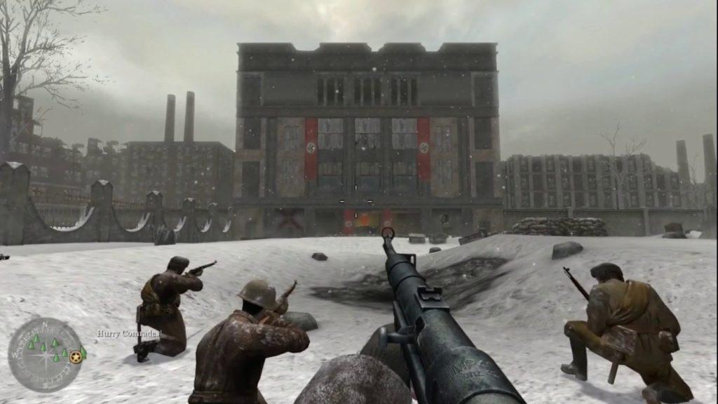 Una schermata di Call of Duty 2