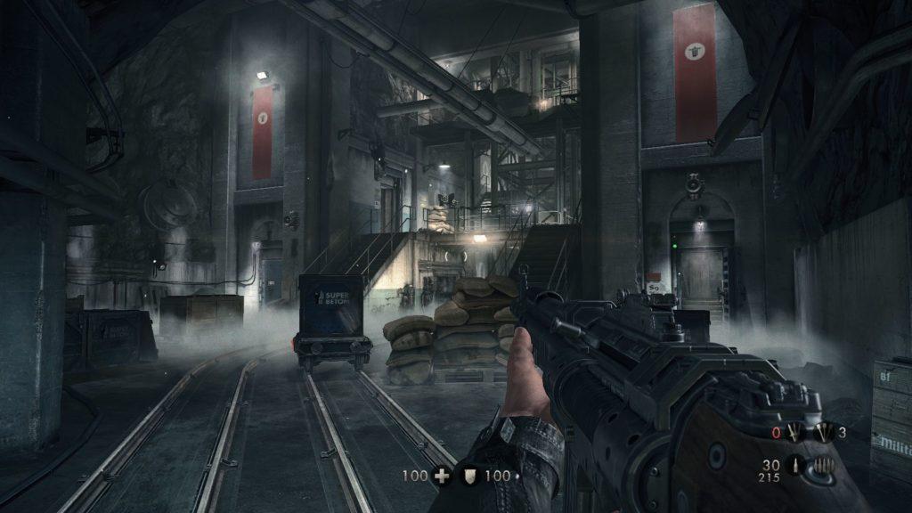 Una schermata di Wolfenstein