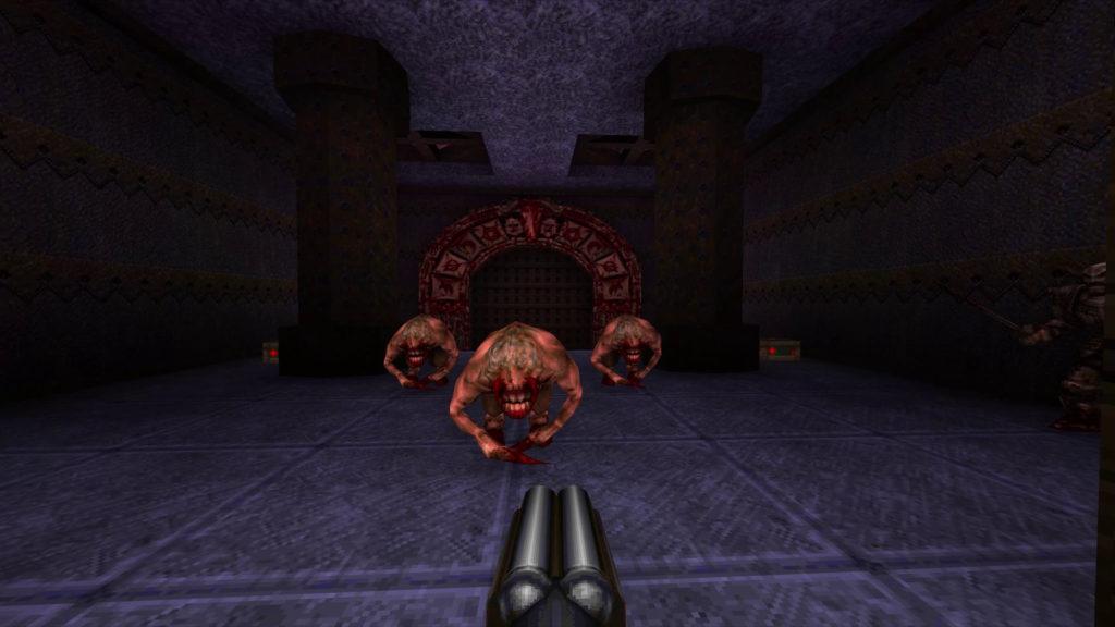 Una schermata di Quake