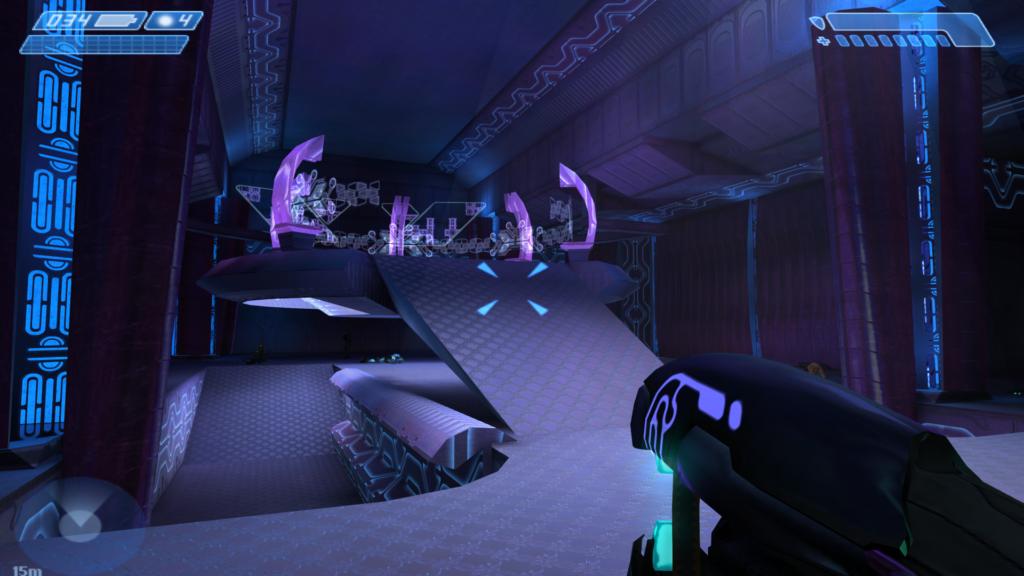 Una schermata di Halo Combat Evolved