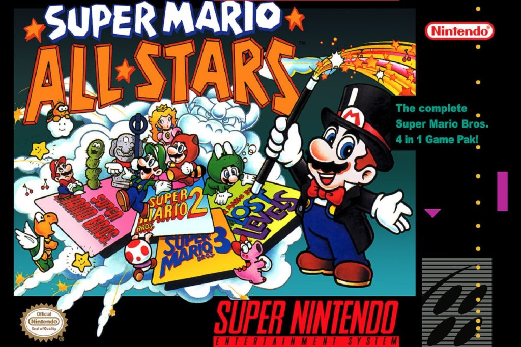 Copertina di Super Mario All Stars