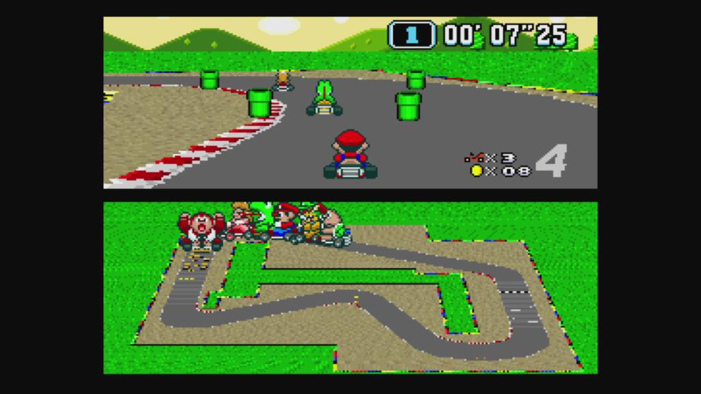 Super Mario Kart su SNES
