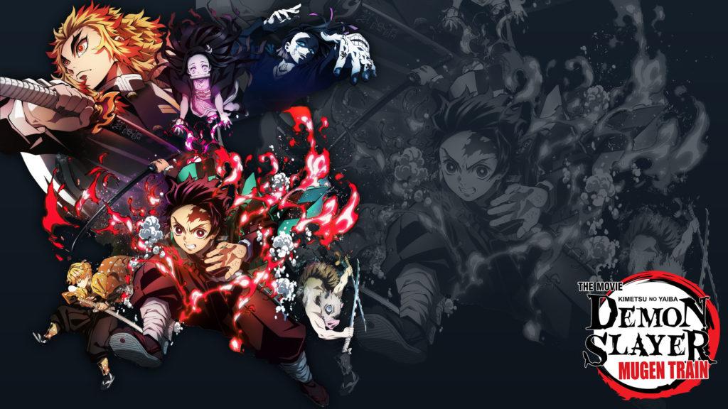 Immagine promozionale di Demon Slayer The Movie: Il treno Mugen