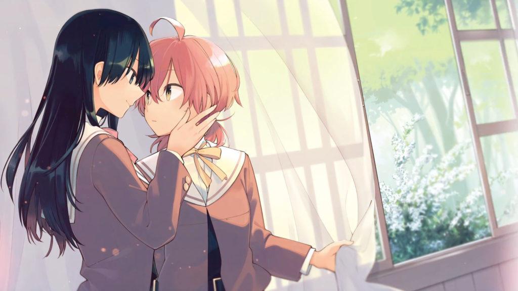 le protagoniste della serie, Yu e Toko