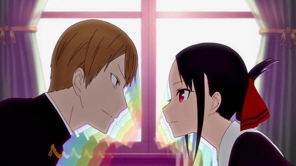 i due protagonisti della serie uno di fronte all'altro