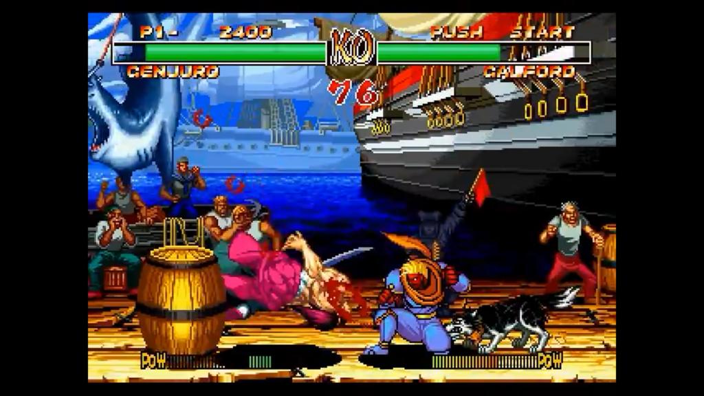 I personaggi sono rossi di rabbia e hanno dei parametri più alti, riuscendo a ferire maggiormente l'avversario
