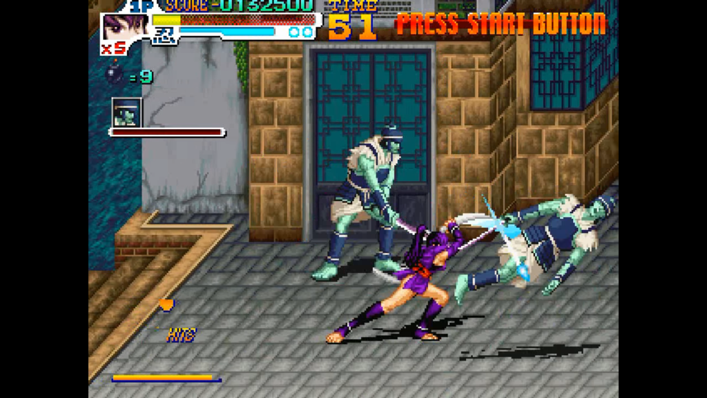 Kurenai effettua una combo che sconfigge il nemico