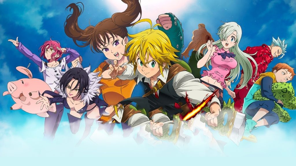 I protagonisti dell'anime