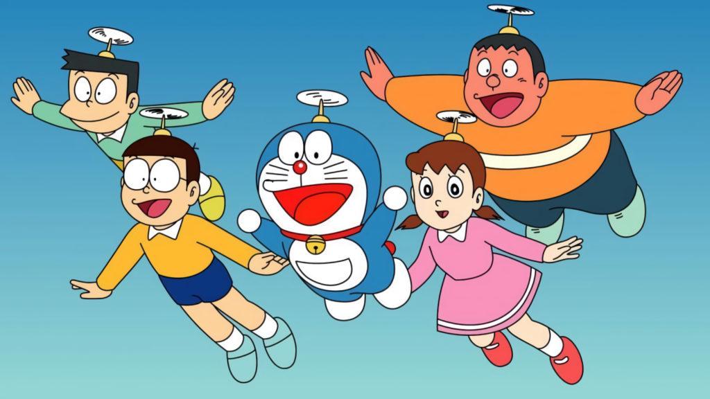I protagonisti di Doraemon