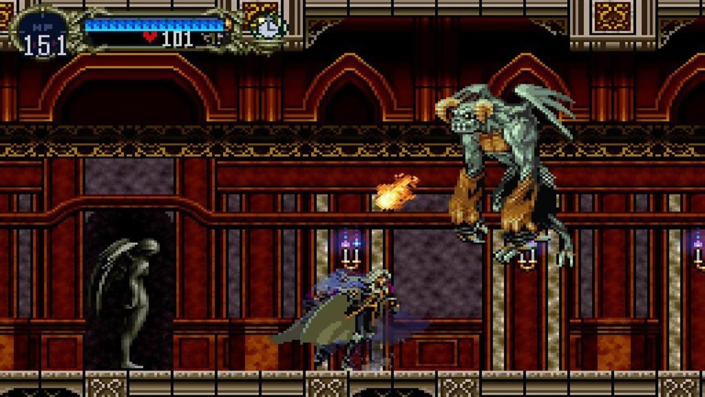 Gameplay di Castlevania: Symphony of the Night