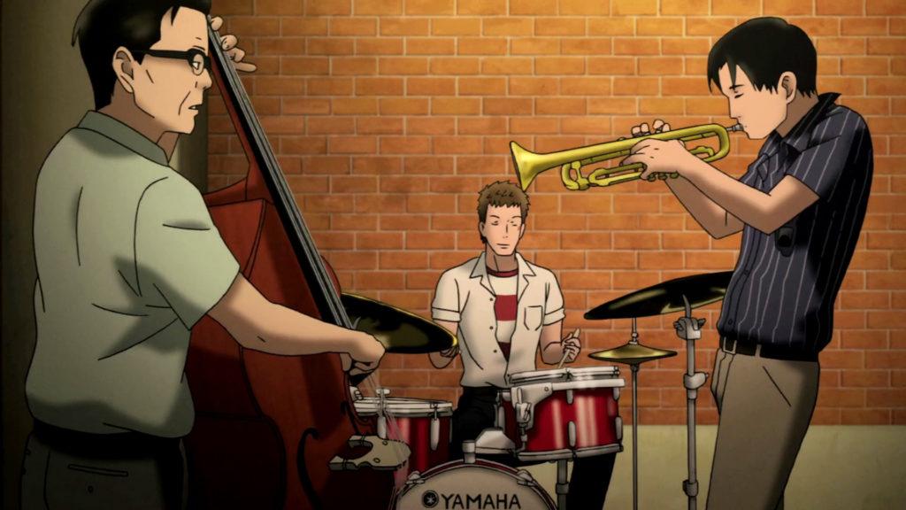 I protagonisti stanno suonando un pezzo jazz